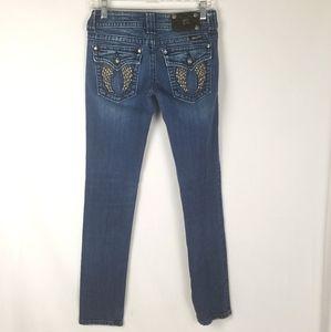 Miss Me Skinny Jeans with embellished Back Pockets